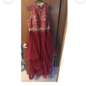 Red Prom/Snowball Dress